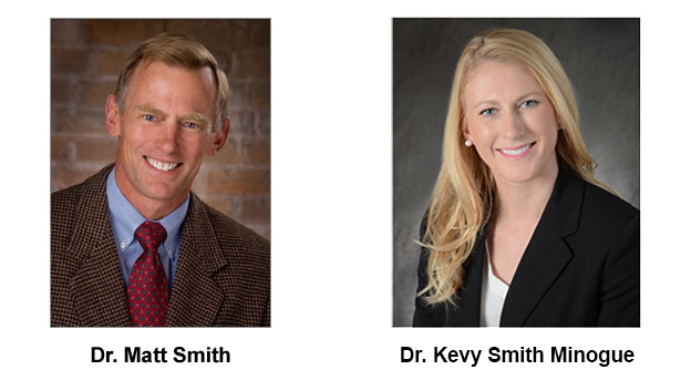 Dr. Matt Smith and Dr. Kevy Smith